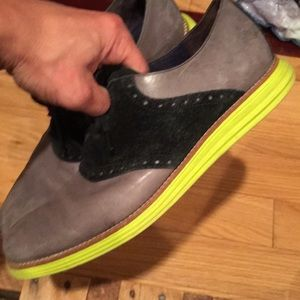Cole haan lunargrand saddle shoes